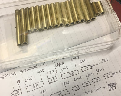 "Turning and Boring Brass Tube for the 44"" Studio Scale Eagle (Number 2)"